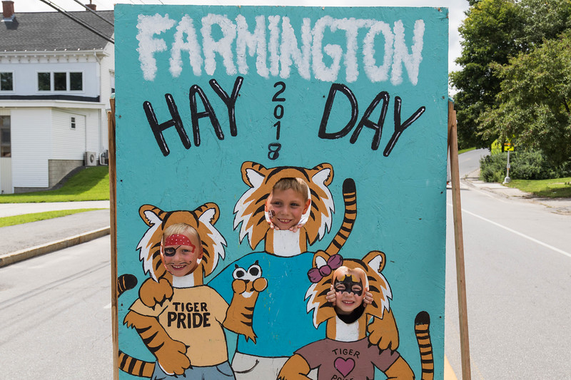 Farmington holds its annual Hay Day Celebration on Main Street in Farmington Saturday. [Scott Patterson/Fosters.com]