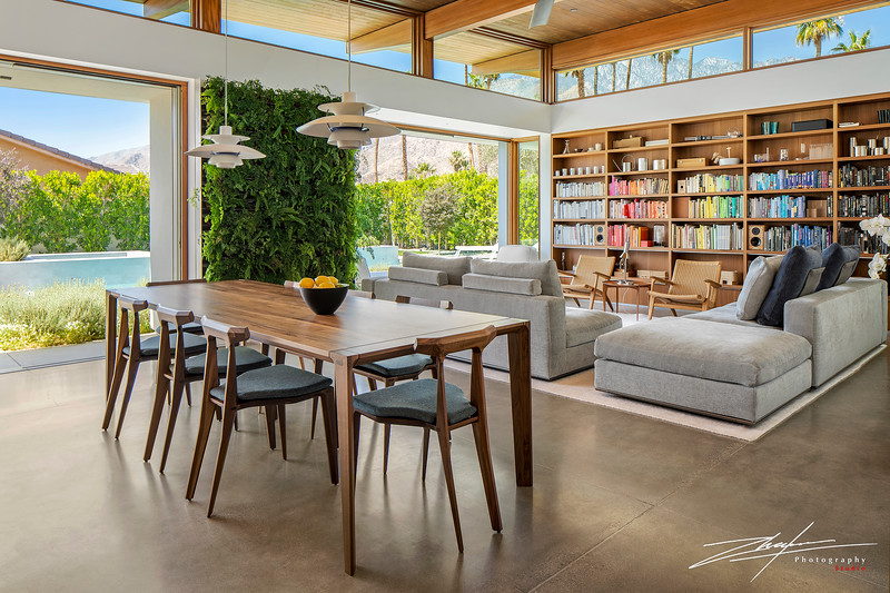 This house was a featured home during Modernism Week 2019