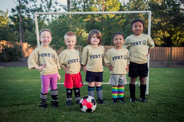 The Fury - Soccer Team 2013