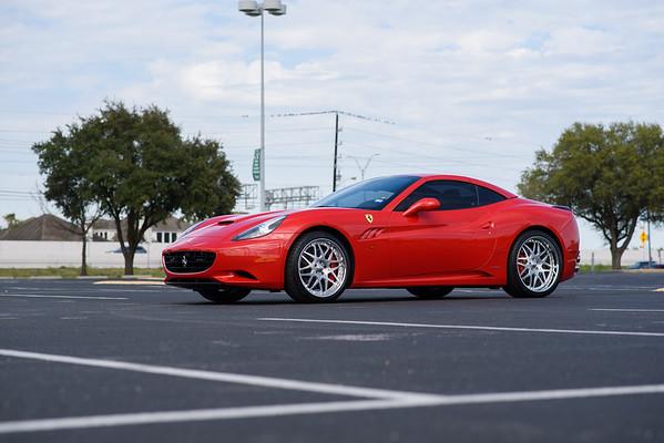 EVS Motors Ferrari California