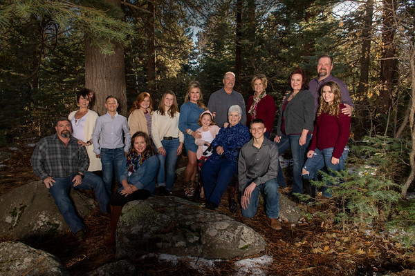 Hamman Family Portrait Dec. 2019