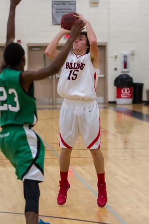 2013-12-19 BHS Basketball VS Myers Park