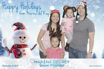 Marina del Ray Snow Wonder