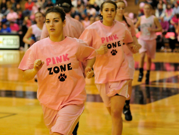 DePauw Womens Basketball Pink Zone 2011
