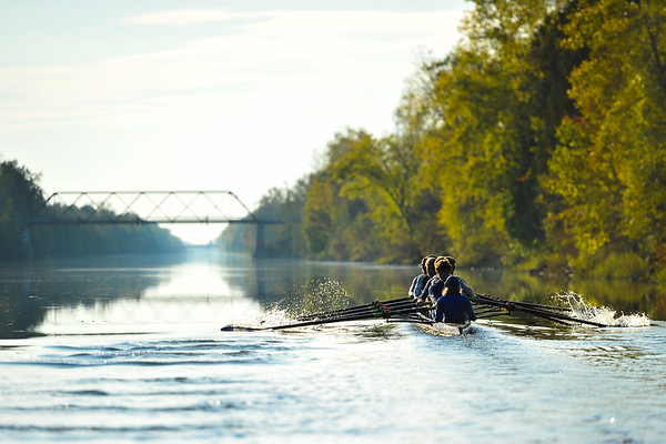 9/26/17 5:34:34 PM Hamilton College Rowing at Erie Canal, Rome NY<br /> <br /> Photo by Josh McKee