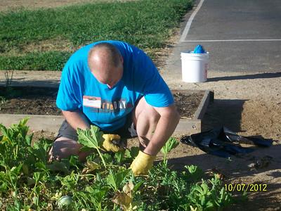Theodore Judah Elementary School Clean Up