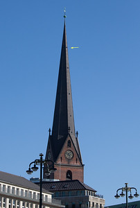 2011 03 08 Ausblick vom Kirchturm auf Hamburg
