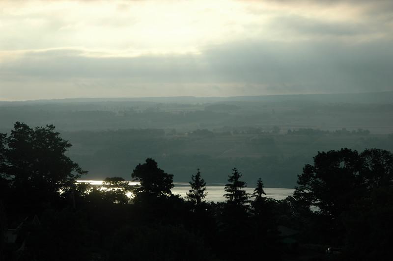 Early morning on Seneca Lake