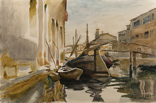 Watercolor Paintings - inspired by masterworks