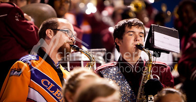 Pep Band at Westside High School - Photos by Christopher Sloan