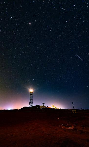 Gantheaume Point Lighthouse under the Stars
