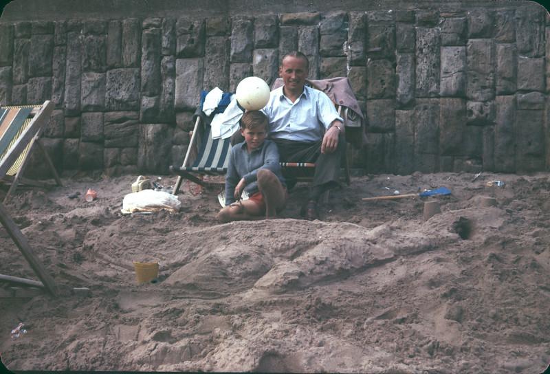 Ron & Graham Scarborough beach 1960 copy.jpg