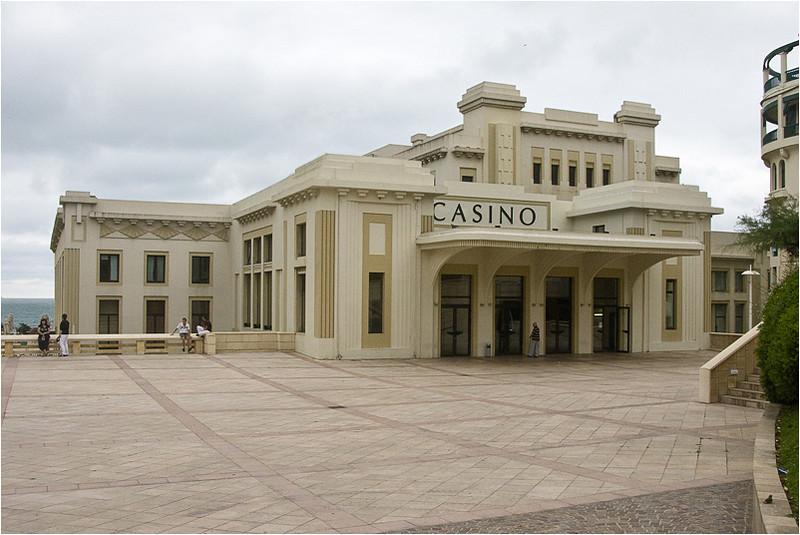 The Casino in Biarritz