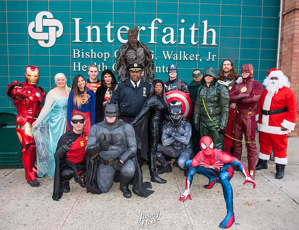Patrol Borough Brooklyn North Superhero's