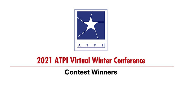 2021 Winter Conference