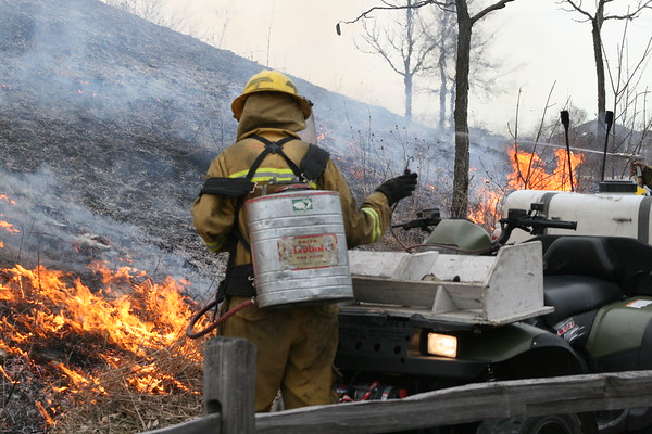 Wildland Burns Northbrook Park District