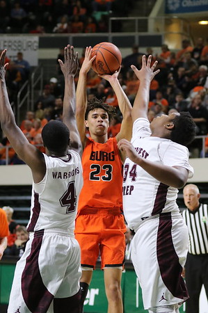 24 Boys Basketball:  Wheelersburg vs. Harvest Prep (Regional) 2018