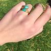 Vintage Bypass Gemstone Ring 6