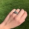 2.10ct Art Deco Peruzzi Cut Diamond Ring, GIA W-X SI2 26