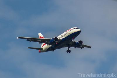 Airbus A318's of British Airways