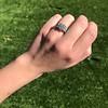 2.10ct Art Deco Peruzzi Cut Diamond Ring, GIA W-X SI2 22