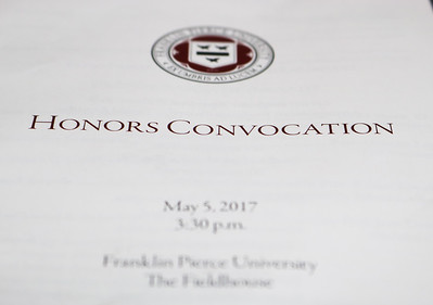 Honors Convocation 5-5-17