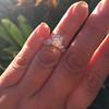 1.59ct Round Brilliant Diamond Ring GIA J SI1 9