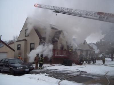 Northlake box alarm fire 412 N. Laporte, 12-23-2010