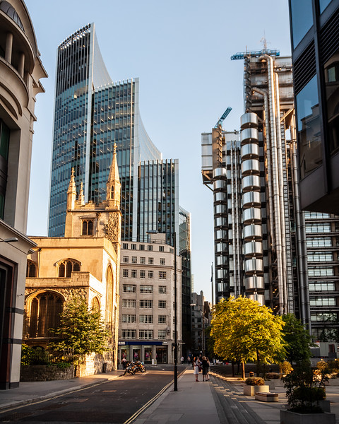 City of London streetscape