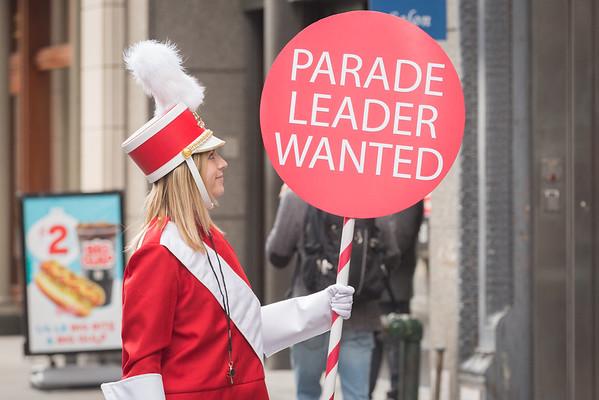 Improv Everywhere: Random Parade Leader