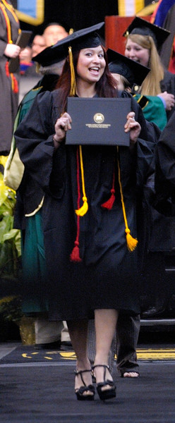 4/26/14 Emily Anne Abraira Sese - Oakland University Commencement
