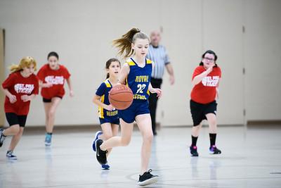 2020-01-25 Rockets Girls Basketball