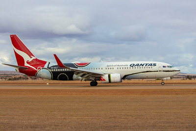 First B737 flight to Geraldton