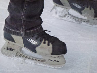 Ice Skating, December 2011