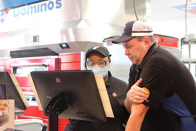 Domino's Griffith Location Grand Opening 2021