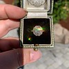 1.97ctw Antique Cluster Ring, GIA G SI2 51