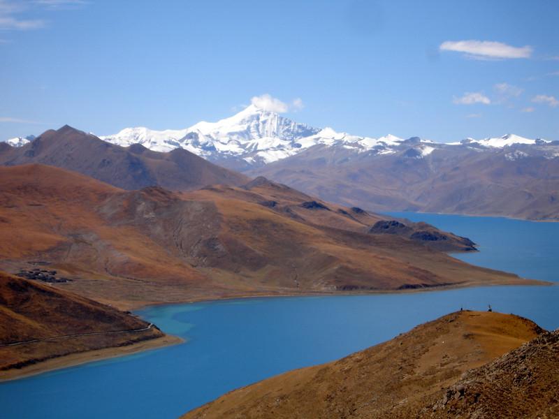 Yandrok (Turquoise) Lake, Tibet