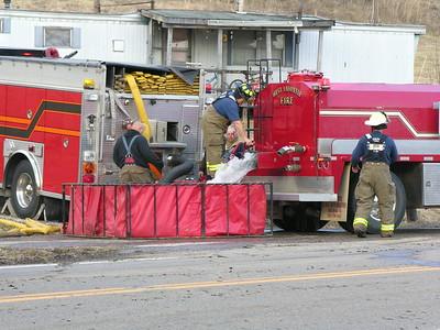03-05-09 West Lafayette FD Grass Fire