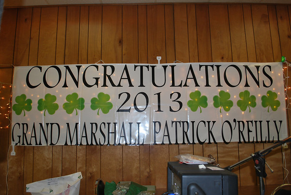 Pre-St. Patrick's Day Fundraiser 2013