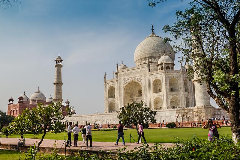 Taj Mahal - Golden Triangle of India
