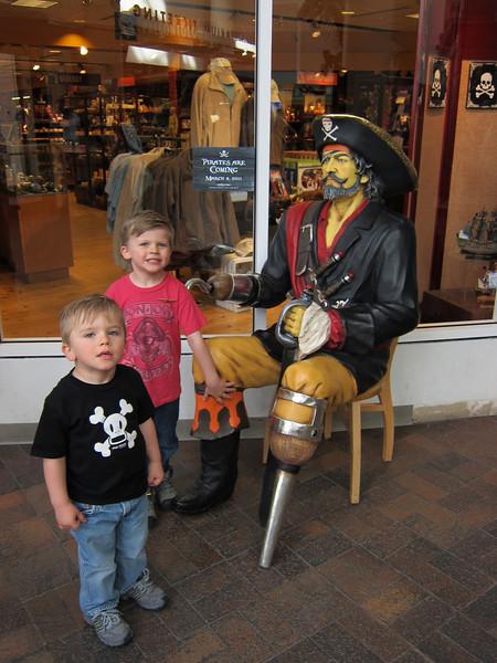 Denver pirate exhibit