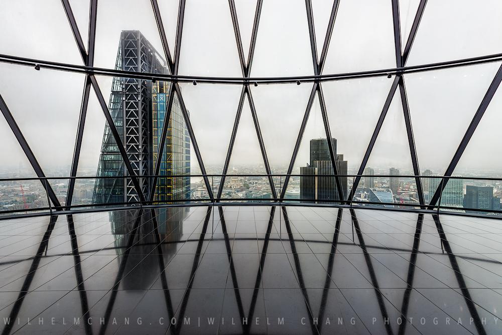 到倫敦攝影 子彈大樓 The Gherkin by 旅行攝影師 張威廉 Wilhelm Chang Photography