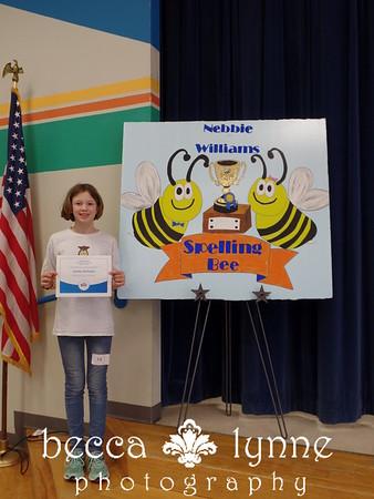 january 2016 school spelling bee