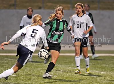 2011-03-29 - Carroll v Flower Mound (Women's 5A Bi-District Soccer)