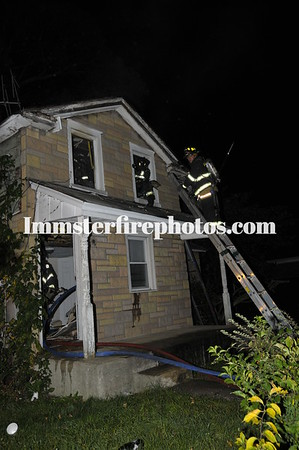 WESTBURY FD HOUSE FIRE
