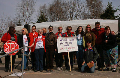 United Against the War on Women - April 28, 2012