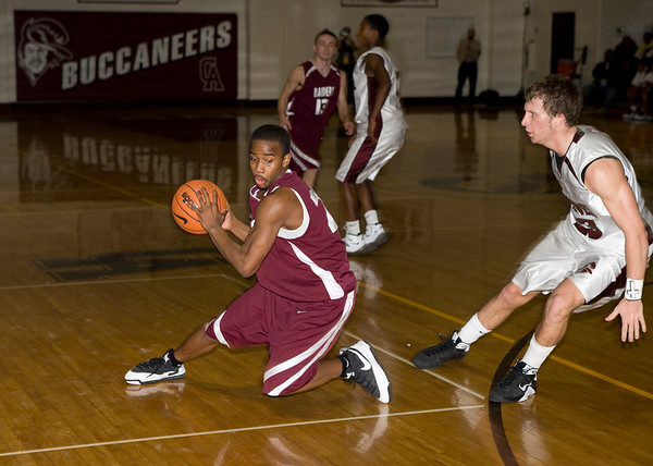 2009 DIAA First Round Boys Basketball Tournament - Caravel vs Concord