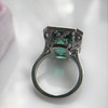 11.77ct Tourmaline Halo Ring by Leon Mege, AGL Cert 32