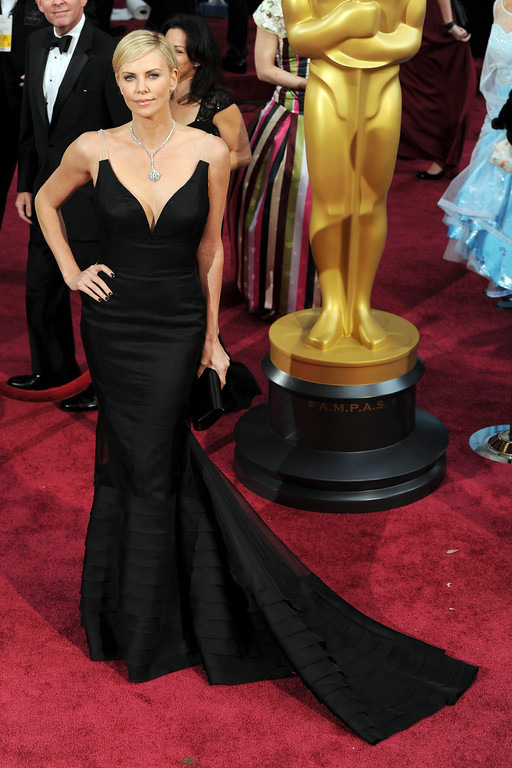 . Charlize Theron attends the 86th Academy Awards at the Dolby Theatre in Hollywood, California on Sunday March 2, 2014 (Photo by John McCoy / Los Angeles Daily News)