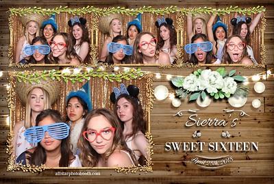 Sierra's Sweet Sixteen